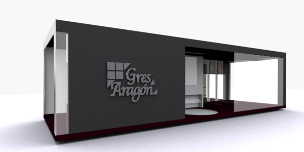 Stand Gres d'Aragon Cersaie - Progetto